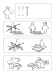 IKEA HOPEN BED FRAME FULL/DOUBLE Assembly Instruction - 2
