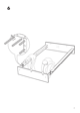 IKEA HOPEN BED FRAME FULL/DOUBLE Assembly Instruction - 7