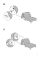 IKEA IKEA PS CHAIR BED COVER Assembly Instruction - 5