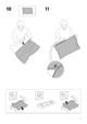 IKEA IKEA PS CHAIR BED COVER Assembly Instruction - 7