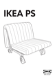 IKEA IKEA PS CHAIR BED FRAME Assembly Instruction - 1