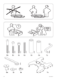 IKEA IKEA PS CHAIR BED FRAME Assembly Instruction - 2