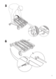 IKEA IKEA PS CHAIR BED FRAME Assembly Instruction - 5