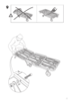 IKEA IKEA PS CHAIR BED FRAME Assembly Instruction - 7