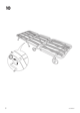 IKEA IKEA PS CHAIR BED FRAME Assembly Instruction - 8