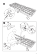IKEA IKEA PS CHAIR BED FRAME Assembly Instruction - 9