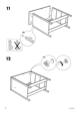 IKEA KOPPANG CHEST W/ 3 DRAWERS Assembly Instruction - 8