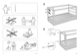 "IKEA KURA REVERSIBLE BED 38X75"" Assembly Instruction - 2"