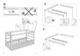 "IKEA KURA REVERSIBLE BED 38X75"" Assembly Instruction - 7"