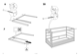 "IKEA KURA REVERSIBLE BED 38X75"" Assembly Instruction - 8"