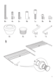 IKEA LEIRVIK BED FRAME FULL, QUEEN & KING Assembly Instruction - 3