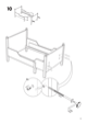 "IKEA LEKSVIK EXTENDABLE BED FRAME 38X75"" Assembly Instruction - 9"