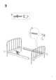 IKEA LILLESAND BED FRAME FULL, QUEEN & KING Assembly Instruction - 5