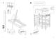 IKEA LO BUNK BED FRAME TWIN Assembly Instruction - 8