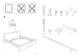 IKEA MALM BED FRAME QUEEN Assembly Instruction - 3