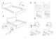 IKEA MALM BED FRAME QUEEN Assembly Instruction - 6