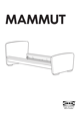"IKEA MAMMUT BED FRAME 27 1/2X63"" Assembly Instruction - 1"