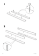 "IKEA MAMMUT BED FRAME 27 1/2X63"" Assembly Instruction - 4"