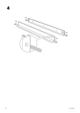"IKEA MAMMUT BED FRAME 27 1/2X63"" Assembly Instruction - 6"
