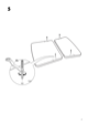 "IKEA MAMMUT BED FRAME 27 1/2X63"" Assembly Instruction - 7"