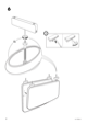 "IKEA MAMMUT BED FRAME 27 1/2X63"" Assembly Instruction - 8"