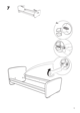 "IKEA MAMMUT BED FRAME 27 1/2X63"" Assembly Instruction - 9"