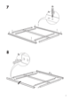 IKEA MANDAL BED FRAME FULL/DOUBLE Assembly Instruction - 7
