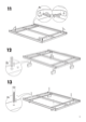 IKEA MANDAL BED FRAME FULL/DOUBLE Assembly Instruction - 9