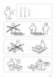 IKEA MÃRKEDAL HEADBOARD/FOOTBOARD FULL/DOUBLE Assembly Instruction - 2
