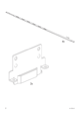 IKEA MÃRKEDAL HEADBOARD/FOOTBOARD FULL/DOUBLE Assembly Instruction - 4