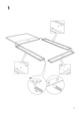 IKEA MÃRKEDAL HEADBOARD/FOOTBOARD FULL/DOUBLE Assembly Instruction - 5