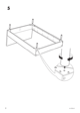 IKEA MÃRKEDAL HEADBOARD/FOOTBOARD FULL/DOUBLE Assembly Instruction - 8