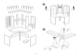 IKEA MIKAEL CORNER WORKSTATION Assembly Instruction - 4