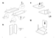 IKEA MIKAEL CORNER WORKSTATION Assembly Instruction - 9