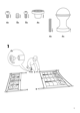 IKEA NORESUND HEADBOARD/FOOTBOARD QUEEN Assembly Instruction - 3