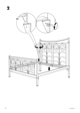 IKEA NORESUND HEADBOARD/FOOTBOARD QUEEN Assembly Instruction - 4