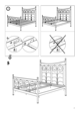 IKEA NORESUND HEADBOARD/FOOTBOARD QUEEN Assembly Instruction - 7
