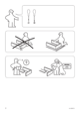 IKEA ODDA PULL OUT BED TWIN Assembly Instruction - 2