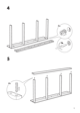IKEA ODDA PULL OUT BED TWIN Assembly Instruction - 5