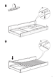 IKEA ODDA PULL OUT BED TWIN Assembly Instruction - 7