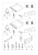 "IKEA RATIONELL DRAWER FRONT 24"" Assembly Instruction - 3"