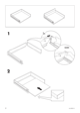 "IKEA RATIONELL DRAWER FRONT 24"" Assembly Instruction - 4"