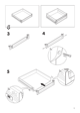 "IKEA RATIONELL DRAWER FRONT 24"" Assembly Instruction - 5"