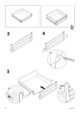 "IKEA RATIONELL DRAWER FRONT 24"" Assembly Instruction - 6"
