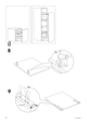 "IKEA RATIONELL DRAWER FRONT 24"" Assembly Instruction - 8"