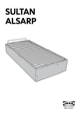 IKEA SULTAN ALSARP BED BASE Assembly Instruction - 1