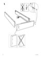 IKEA SULTAN ALSARP BED BASE Assembly Instruction - 6