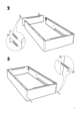 IKEA SULTAN ALSARP BED BASE Assembly Instruction - 7