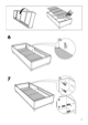 IKEA SULTAN ALSARP BED BASE Assembly Instruction - 9