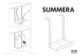 IKEA SUMMERA COMPUTER HOLDER Assembly Instruction - 1